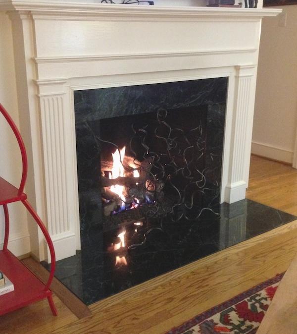 Fireplace Sculpture